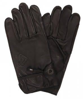 Scippis Leder Handschuhe-Schwarz-M