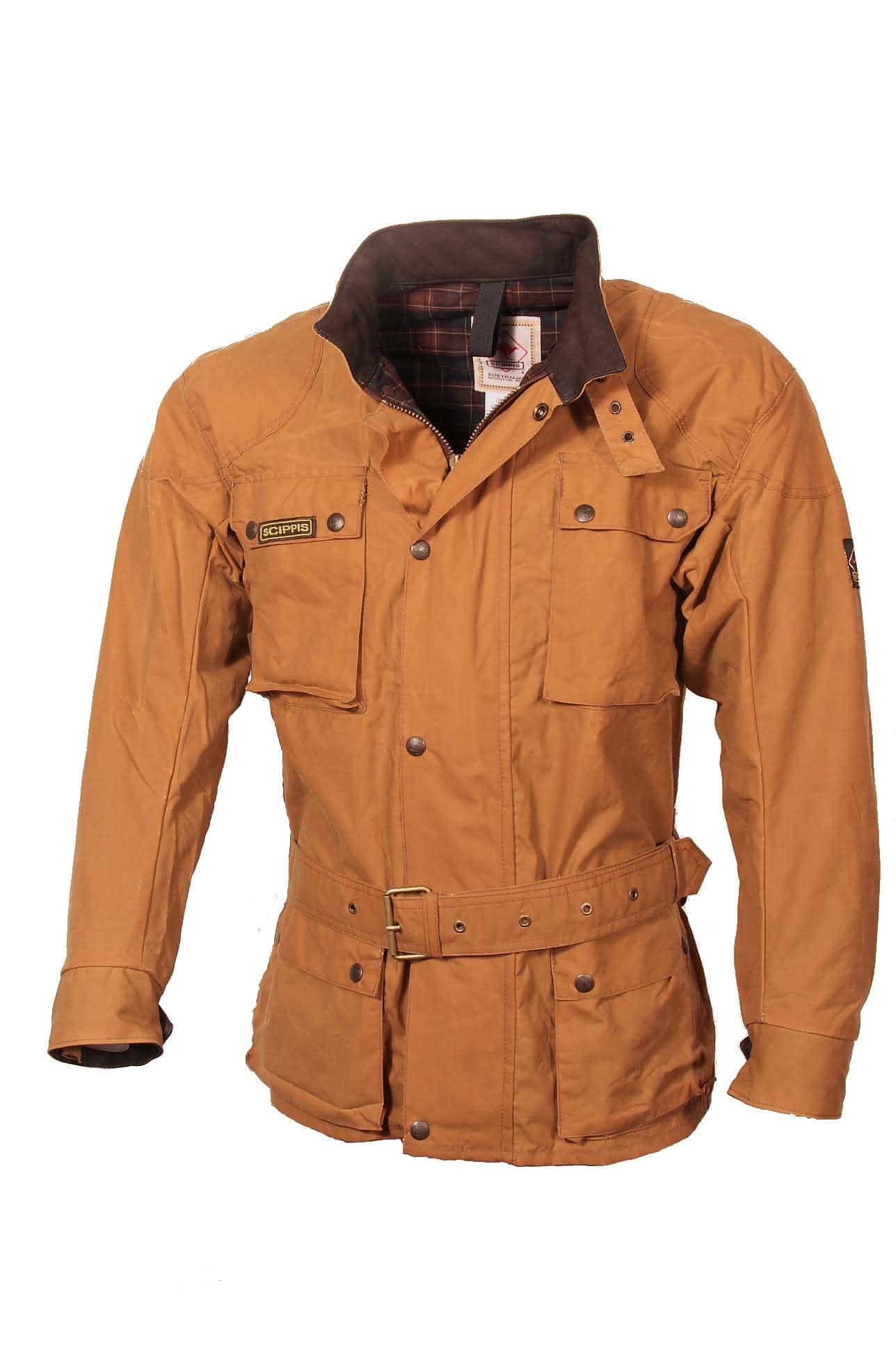 Scippis Belmore Jacket - 2J16 - Tan-XXL