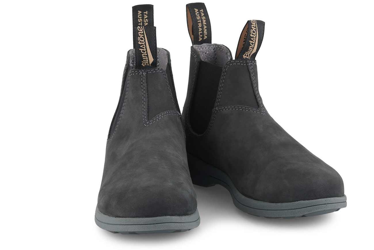 Blundstone 1398  rustic  black Sommerserie