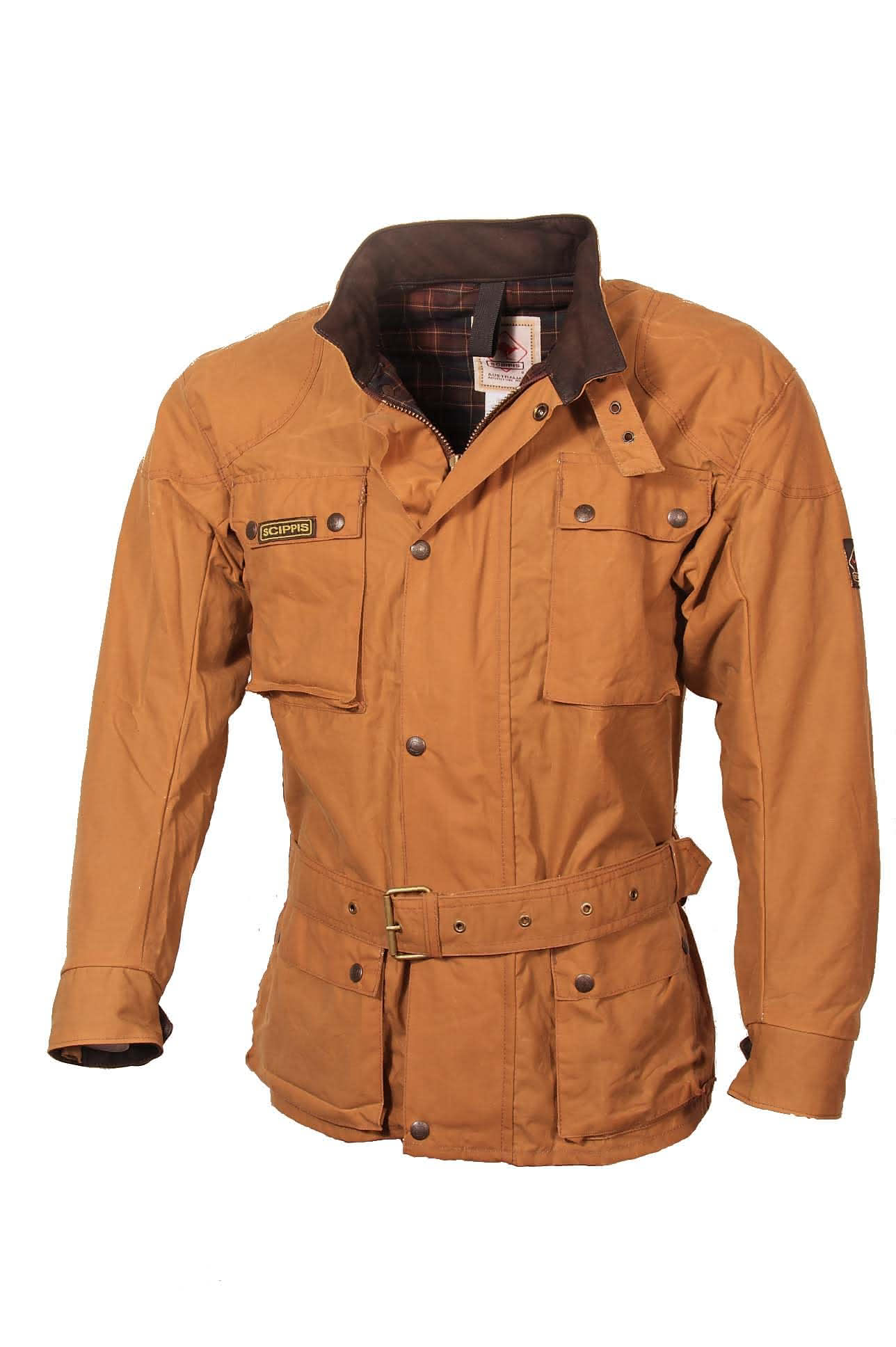 Scippis Belmore Jacket - 2J16 - Tan-XL