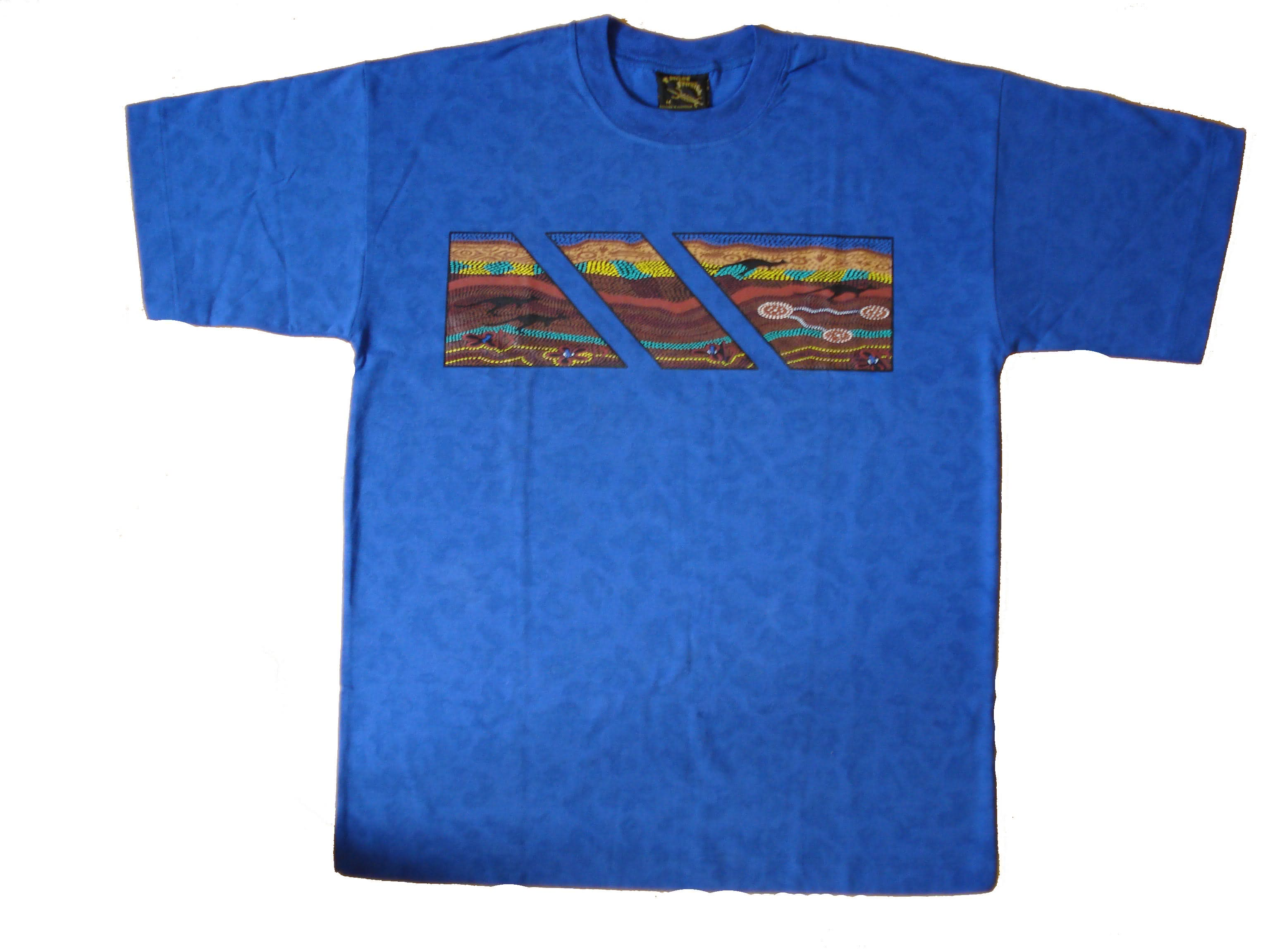 Bulurru T-Shirts Aboriginal Art-L