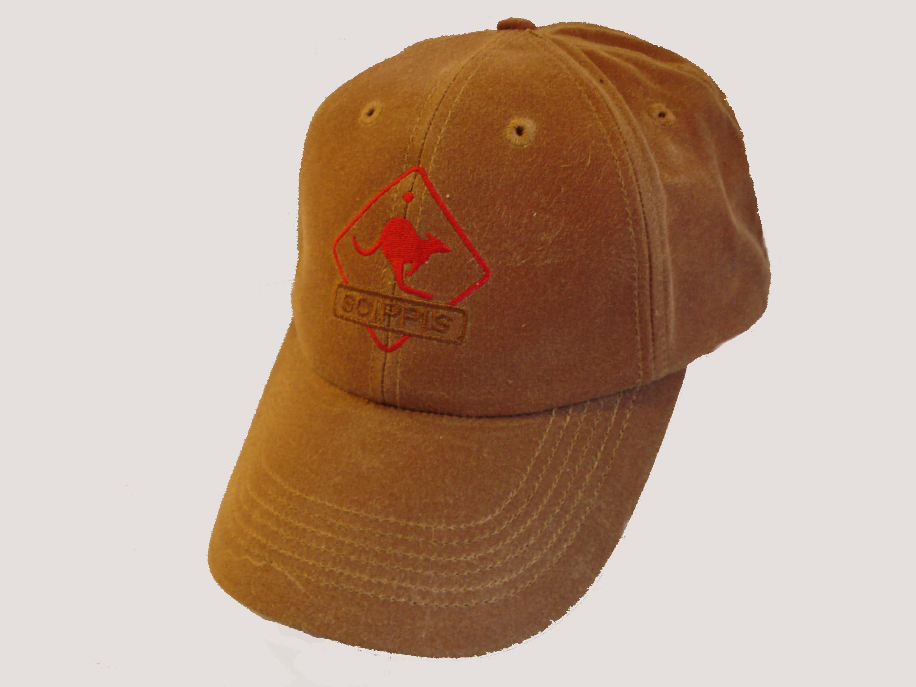 Scippis Oilskin Cap - Tan