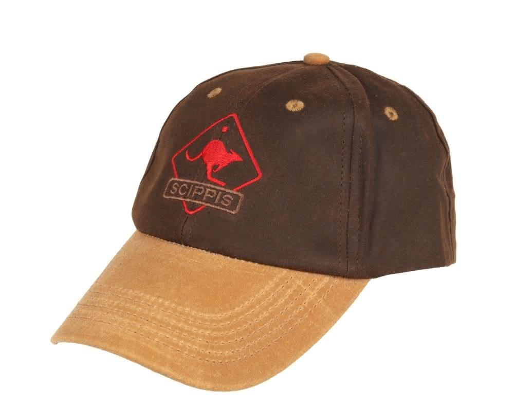 Scippis Oilskin Cap - Tan/braun