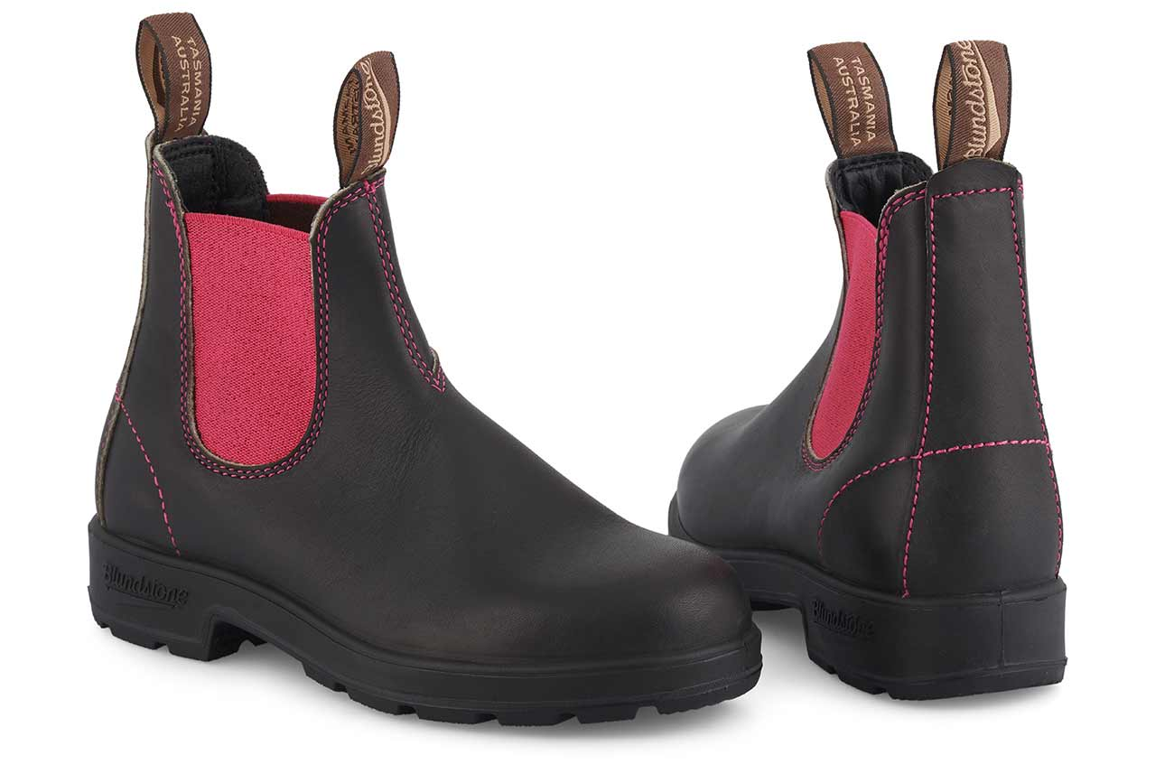 Blundstone 1329-Stoutbrown/Pink