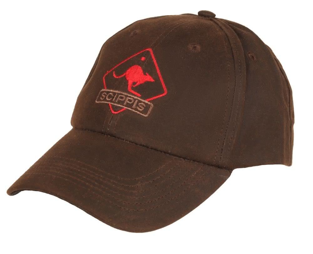 Scippis Oilskin Cap - braun/braun